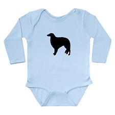 Borzoi Long Sleeve Infant Bodysuit