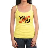 Maryland State Flag Ladies Top