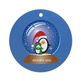 Personalized Penguin Ornament