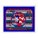 American Style Throw Blankets