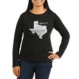 La Paloma-Lost Creek, Texas. Vintage T-Shirt