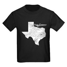 Four Corners, Texas. Vintage T