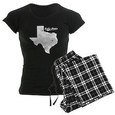 Palo Pinto, Texas. Vintage Pajamas