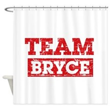Team Bryce Shower Curtain