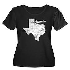Clarendon, Texas. Vintage T