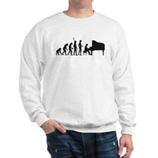 evolution piano player Sweatshirt