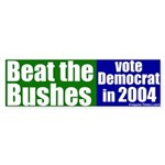 Beat the Bushes Bumper Sticker