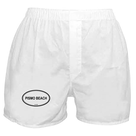 Pismo Beach oval Boxer Shorts