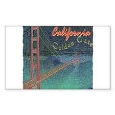 california golden gate pencil effect Decal