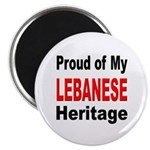 Proud Lebanese Heritage Magnet