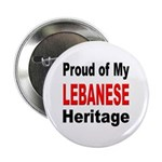 Proud Lebanese Heritage Button