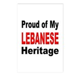 Proud Lebanese Heritage Postcards (Package of 8)