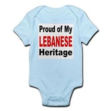 Proud Lebanese Heritage Infant Creeper