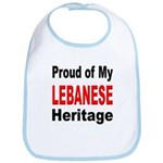 Proud Lebanese Heritage Bib