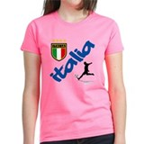 Cute European soccer Tee