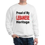 Proud Polish Heritage (Front) Sweatshirt