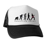 evolution e-guitar player Hat