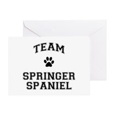 Team Springer Spaniel Greeting Card