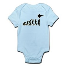 Fighter Pilot Infant Bodysuit