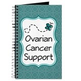 Ovarian Cancer Support Butterfly Journal