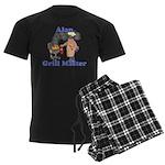 Grill Master Alan Men's Dark Pajamas