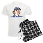 Grill Master Alan Men's Light Pajamas