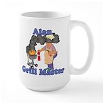 Grill Master Alan Large Mug
