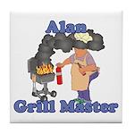 Grill Master Alan Tile Coaster