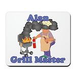 Grill Master Alan Mousepad