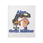 Grill Master Alan Throw Blanket