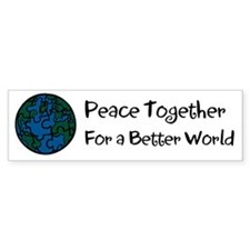 World Peace Bumper Bumper Sticker