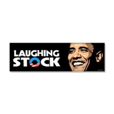 Laughing Stock Car Magnet 10 x 3