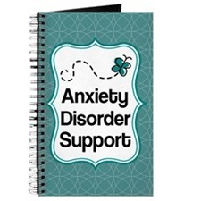 Anxiety Disorder Support Teal Awareness Journal