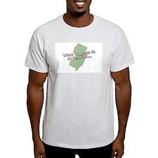 Paterson Zip Code 07501 Ash Grey T-Shirt