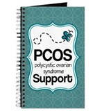 PCOS Teal Butterfly Awareness Journal