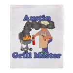 Grill Master Austin Throw Blanket