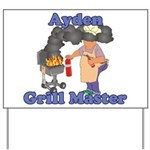 Grill Master Ayden Yard Sign