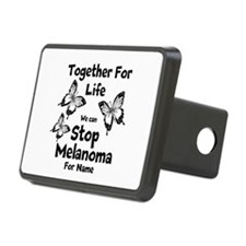 Personalize Melanoma Hitch Cover