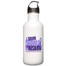 I Wear Periwinkle 6.4 Esophageal Cancer Water Bottle
