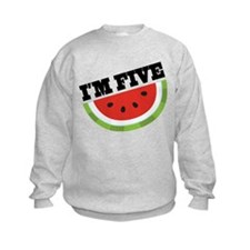 5th Birthday Watermelon Sweatshirt