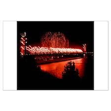 Fireworks - 75th Anniversary Golden Gate Bridge La