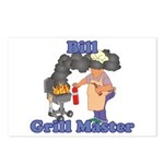 Grill Master Bill Postcards (Package of 8)