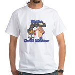 Grill Master Blake White T-Shirt
