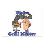 Grill Master Blake Postcards (Package of 8)