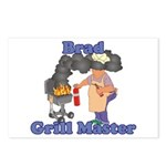 Grill Master Brad Postcards (Package of 8)