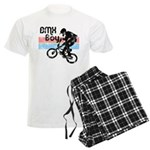 1980s BMX Boy Distressed Men's Light Pajamas