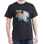 1980s BMX Boy Distressed Dark T-Shirt