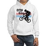 1980s BMX Boy Distressed Hooded Sweatshirt