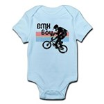 1980s BMX Boy Distressed Infant Bodysuit