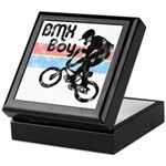 1980s BMX Boy Distressed Keepsake Box